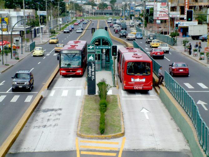 ekologiczne miasta quito