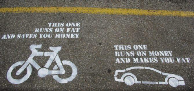 jak żyć bez samochodu rower kontra auto