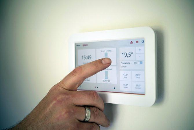 jak oszczędzać energię panel sterowania