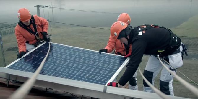 energia ze słońca montaż paneli pv