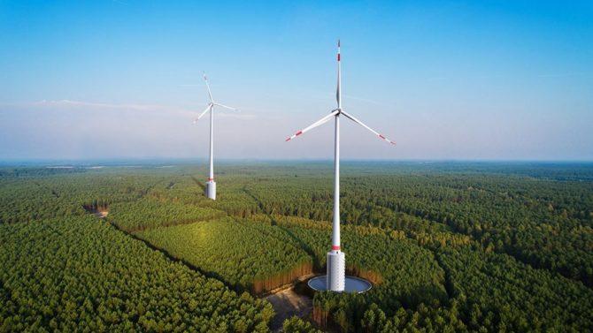 ekologiczne prognozy turbina wiatrowa magazyn energii