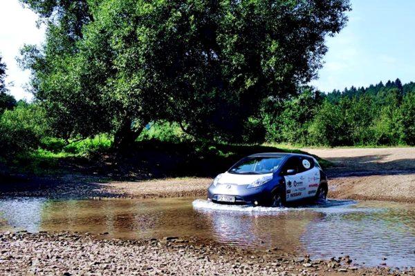 elektrycznym autem przez Afrykę 1