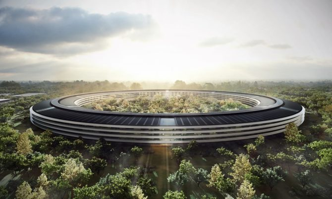 energooszczędne budynki apple campus