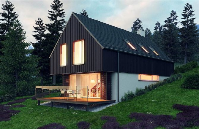 energooszczędne budynki dom jednorodzinny extradom
