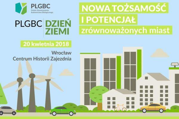 konferencja PLGBC dzień ziemi 2018 x