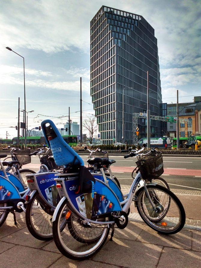 poznański rower miejski kaponiera bałtyk