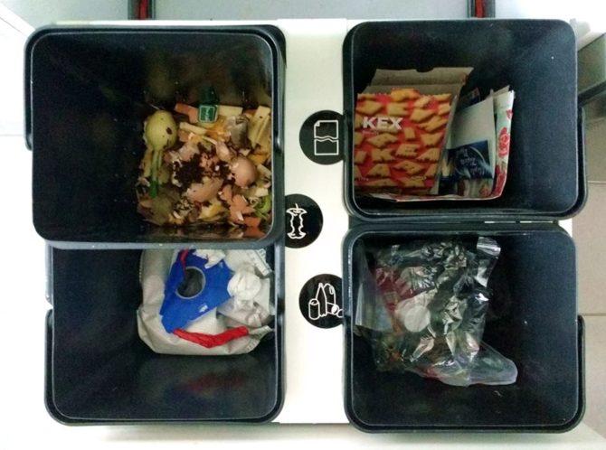 segregacja odpadów ikea variera
