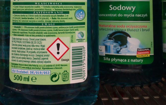 ekologiczny płyn do mycia naczyń
