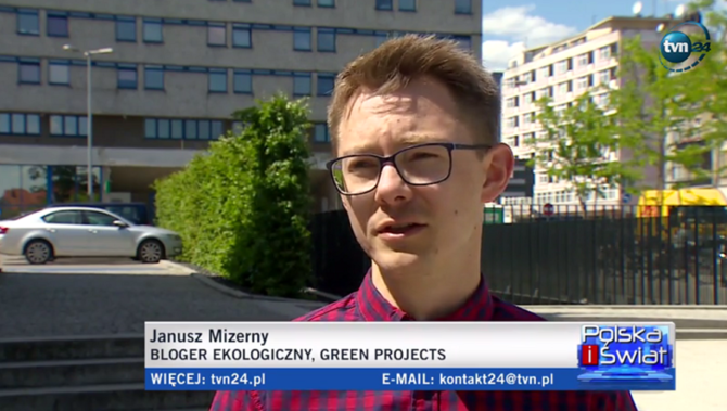 janusz green projects w tvn24