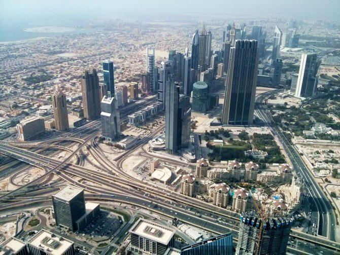 dubai budynki niepohamowany wzrost