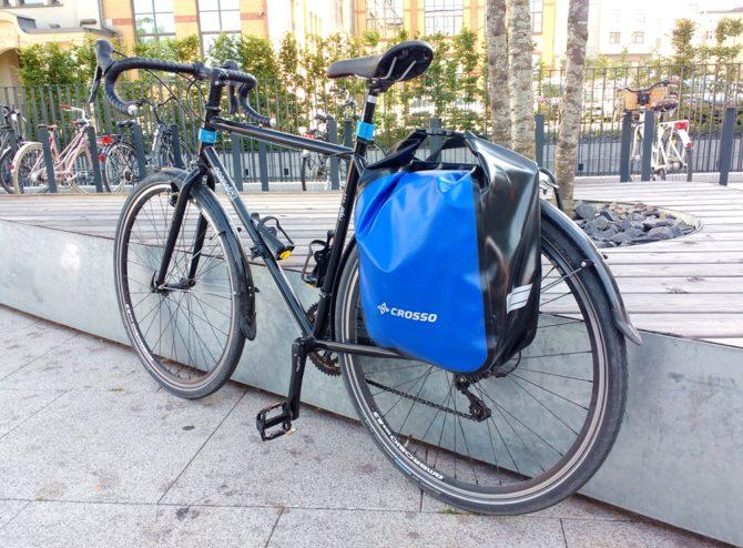 zakupy na rowerze sakwy