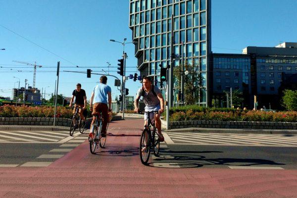 miasto przyjazne rowerzystom poznań