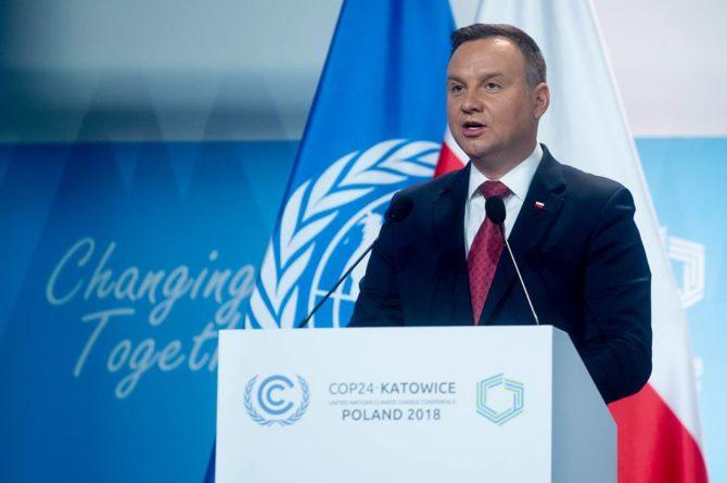 szczyt klimatyczny COP24 andrzej duda