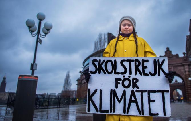 szczyt klimatyczny greta thunberg strajk dla klimatu