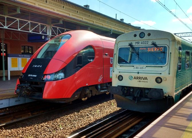 podróżowanie neutralne dla klimatu pociąg
