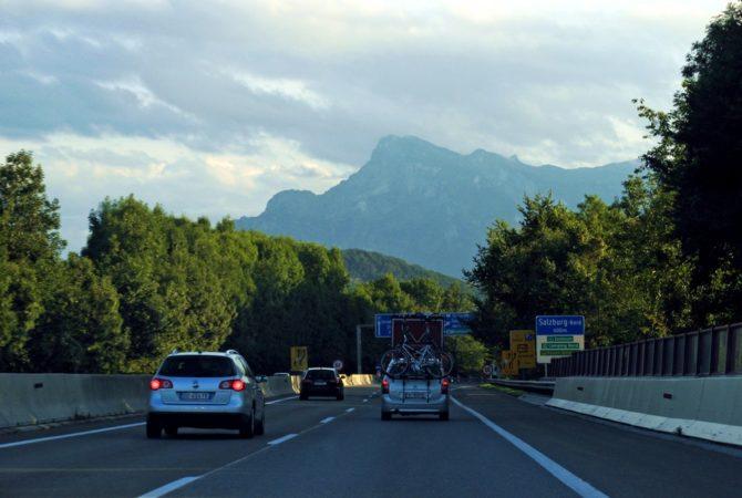 podróżowanie autostrada austria