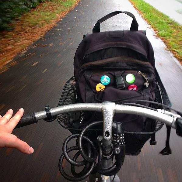 zakupy na rowerze plecak koszyk nextbike